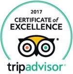 Trip Advisor COE Award 2017
